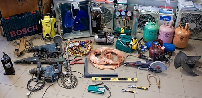 Инструменты для кондиционера