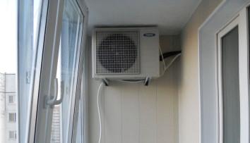 кондиционер на балконе