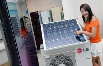 Кондиционер на солнечных батареях
