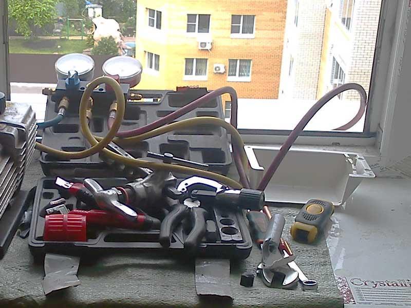 Инструменты для сплит-системы