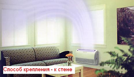 напольно-потолочный кондиционер