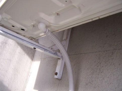 отвод конденсата от наружного блока кондиционера